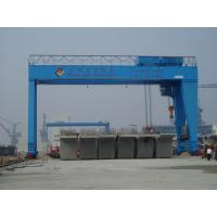 Wholesale MG A Double Girder Electric Overhead Gantry Crane with Hook For Metallurgical Enterprises from china suppliers