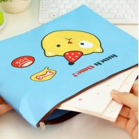 Wholesale Oxford Cloth Folder Locking Bank Bag A4 Paper Stationery Cartoon Data Zipper from china suppliers