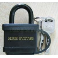 Wholesale Square Blade Iron Padlock with Plastic from china suppliers