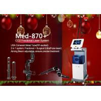 China USA Coherent Metal Tube Co2 Fractional Laser Machine for Scar Removal wholesale