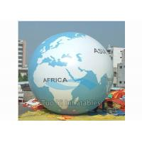 Wholesale Giant Air - Supported Earth Globe Balloons Sphere Shape Inflatable Earth Helium Ball from china suppliers