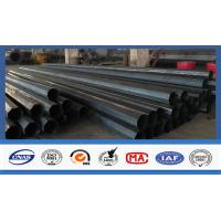 Wholesale Polygonal Shape Electrical Power Pole Hot Dip Galvanized Steel Tubular Poles from china suppliers