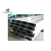 Wholesale Light Weight C Channel Metal Easy Installation Small Tolerance Seamless Simple Structure from china suppliers
