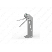 Buy cheap 304 Stainless Access Control System Automatic Turnstile Waist Height Turnstile from wholesalers