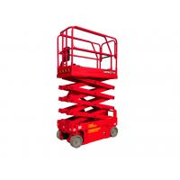 Wholesale 7.8 Meters Wide 4 Wheel Drive Scissor Lift Equipment Low Energy Consumption from china suppliers
