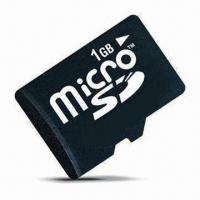 Wholesale 1GB microSD Card with Original Taiwan Chip, Full Capacity and High Speed from china suppliers
