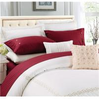 Buy Cheap Sateen Stripe Polyester Cotton Egyptian Cotton 4pcs Bedsheets  From Wholesalers