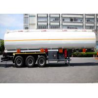Wholesale Liquefied Gas Tanker Truck Semi Trailer Capacity 36000L 3 Axles High Effective from china suppliers