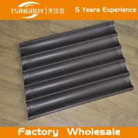 Wholesale Factory high quality bread baking aluminum sheet-baking tray prices-on-stick french baguettes baking tray from china suppliers