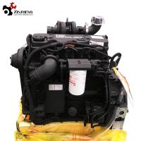 Buy cheap QSB4.5-C130 Cummins Diesel Engine, Euro Ⅲ 130HP , DCEC Mechanical Engineering from wholesalers