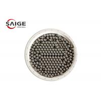 Quality G100 Aisi 1010 Carbon Steel Sphere , Professional Round Steel Balls Bright Surface for sale