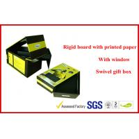 Swivel 1200G Gray Board Electronics Packaging , OEM Customized Printed Mobile Phone Packaging Boxes