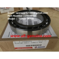 Wholesale 23049161 BEARING ALLISON TRANSMISSION TEREX NHL DUMP TRUCK  TR35 TR50 TR60 TR100 3305B 3305F 3303 3307 TR45 TR70 MT4400 from china suppliers