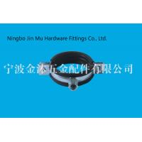 China Professional Industrial Pipe Clamps , Water Tube Coupling Rubber Coated Pipe Clamps on sale
