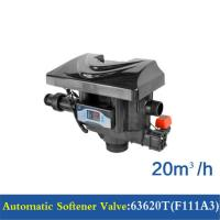 China 20 M3/H Capacity Water Softener Control Valve 63520T(F111A1) / 63620T(F111A3) on sale