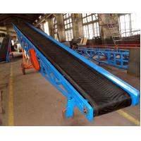 Width 800mm low cost portable rubber belt conveyor price , iron ore