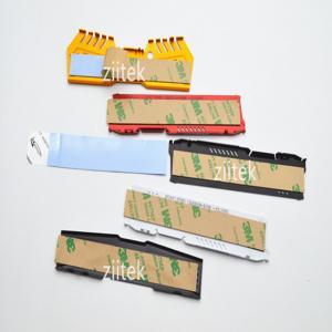 China LED Heatsink -50 - 180℃ Adhesive Thermal Heat Insulation Materials Ultra Thin Blue on sale