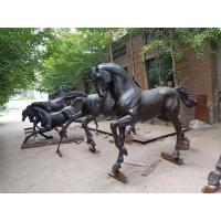 Wholesale Garden bronze horse sculptures brass horse statues,casting bronze animal statues, China sculpture supplier from china suppliers