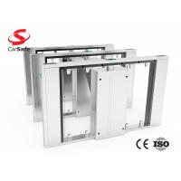 Wholesale Stainless Steel Retractable Flap Barrier Tempered Glass Swing Door from china suppliers