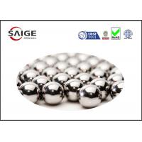 Wholesale Silver AISI 52100 Round Steel Balls With Diameter 2.778mm For Ball Bearings from china suppliers