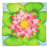 Personalized Infinity Flower 100% Custom Silk Scarves For Ladies / Girls