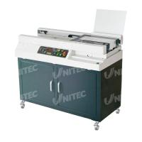 Wholesale Automatic Glue Soft Cover Book Binding Machine Small Milling Blade Included W5500 from china suppliers