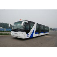 Wholesale White / Red / Yellow Airport Passenger Bus , 4 Stroke Diesel Engine Bus from china suppliers
