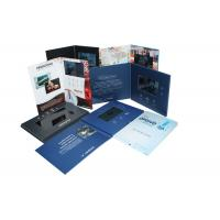 Wholesale Handmade USB downlaoding CMYK printing Video Brochure Card for fair display from china suppliers