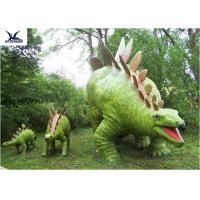 Wholesale Jurassic Park Outdoor Resin Animal Statues , Artificial Robotic Moving Dinosaur Sculpture Park  from china suppliers