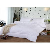 Wholesale 250 ~ 300T And Duck Down 60S 180GSM King Size Of  Hotel Bedding Duvet from china suppliers