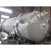 Quality S31603 Stainless Steel Double Shell and Tube Heat Exchanger for PTA Application for sale