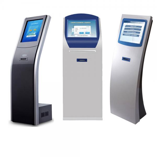 queue system touch screen ticket dispenser kiosk