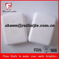 China rectangle shape dental floss wholesale