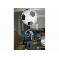 Wholesale Customized Soccer Shape Backpack Balloon Custom Printed Balloon For Advertisement from china suppliers