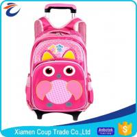 Wholesale 600D Polyester Promotional Products Backpacks Kids Trolley Bag For School Students from china suppliers