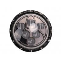 Wholesale 50W Jeep LED Headlights Black 7 Inch Round Off Road LED Headlights from china suppliers