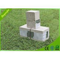 China 150mm Fireproof Panel Sandwich Exterior , EPS Foam Cement Wall ...