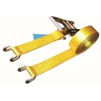 Wholesale Open Hook Over The Wheel Tie Down Straps , Commercial Tie Down Straps 2500 DN LC from china suppliers
