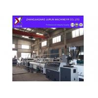 China PVC Double Pipe Production Line/extrusion line/conical twin-screw pvc pipe production line wholesale
