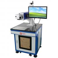 Buy cheap Environmental Protection Co2 Laser Engraver Machine Blue Color For Furniture CE from wholesalers
