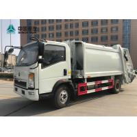 Wholesale Sinotruk Howo 4x2 Compact Garbage Truck Euro 3 120hp 9cbm Without Sleeper from china suppliers