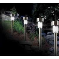 Wholesale stainless steel solar lawn lamp from china suppliers