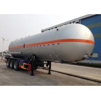 Wholesale Carbon Steel 3 Axles LPG Tank Trailer 38000L For Liquid Chloroethylene Transport from china suppliers