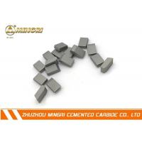 Buy cheap HIP sintering Tungsten Carbide Saw Tips + TCT cemented carbide saw tips for cutting wood from wholesalers