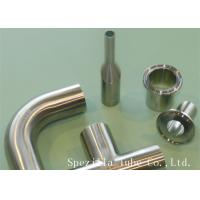 "China 3/4"" Clamp Welded 45 Elbow ASME BPE 20 RA TP 316/316L Stainless Steel Sanitary Fitting wholesale"