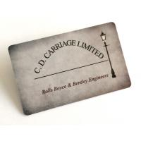 Wholesale Golssy Finish Smooth PVC Business Cards With Flat Serial Number Waterproof from china suppliers