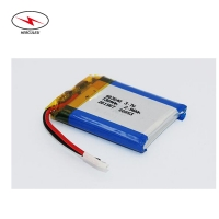 Wholesale 3.7V 700mAh 750mAh Polymer Lipo Pouch Cell rechargeable from china suppliers