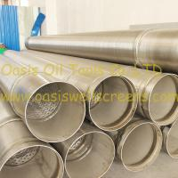 Stainless steel 316L pipe base screen pipe/johnson screens/water well screens