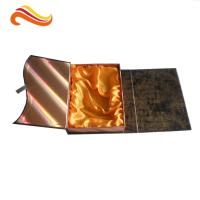 Wholesale Crocodile Embossed Leather Square Luxury Gift Boxes With Golden Satin Covering from china suppliers