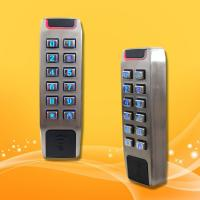 Wholesale Slim Type Standalone Proximity Reader , Wiegand 26 Access Control Rfid Reader from china suppliers